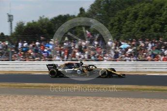 World © Octane Photographic Ltd. Formula 1 – British GP - Qualifying. Renault Sport F1 Team RS18 – Carlos Sainz. Silverstone Circuit, Towcester, UK. Saturday 7th July 2018.