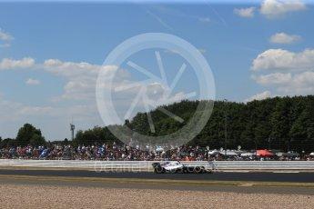 World © Octane Photographic Ltd. Formula 1 – British GP - Qualifying. Williams Martini Racing FW41 – Sergey Sirotkin. Silverstone Circuit, Towcester, UK. Saturday 7th July 2018.