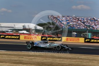 World © Octane Photographic Ltd. Formula 1 – British GP - Qualifying. Mercedes AMG Petronas Motorsport AMG F1 W09 EQ Power+ - Valtteri Bottas. Silverstone Circuit, Towcester, UK. Saturday 7th July 2018.