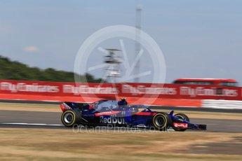 World © Octane Photographic Ltd. Formula 1 – British GP - Qualifying. Scuderia Toro Rosso STR13 – Pierre Gasly. Silverstone Circuit, Towcester, UK. Saturday 7th July 2018.