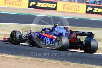 World © Octane Photographic Ltd. Formula 1 – British GP - Practice 1. Scuderia Toro Rosso STR13 – Pierre Gasly. Silverstone Circuit, Towcester, UK. Friday 6th July 2018.
