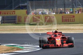 World © Octane Photographic Ltd. Formula 1 – British GP - Practice 1. Scuderia Ferrari SF71-H – Sebastian Vettel. Silverstone Circuit, Towcester, UK. Friday 6th July 2018.