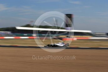World © Octane Photographic Ltd. Formula 1 – British GP - Practice 1. Williams Martini Racing FW41 – Lance Stroll. Silverstone Circuit, Towcester, UK. Friday 6th July 2018.