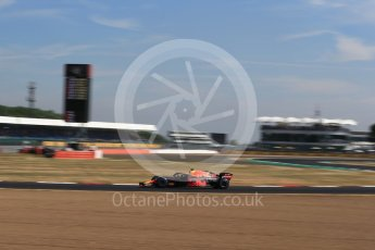 World © Octane Photographic Ltd. Formula 1 – British GP - Practice 1. Aston Martin Red Bull Racing TAG Heuer RB14 – Daniel Ricciardo. Silverstone Circuit, Towcester, UK. Friday 6th July 2018.