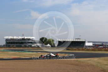 World © Octane Photographic Ltd. Formula 1 – British GP - Practice 1. Haas F1 Team VF-18 – Kevin Magnussen. Silverstone Circuit, Towcester, UK. Friday 6th July 2018.