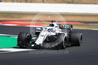 World © Octane Photographic Ltd. Formula 1 – British GP - Practice 2. Williams Martini Racing FW41 – Lance Stroll. Silverstone Circuit, Towcester, UK. Friday 6th July 2018.