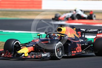 World © Octane Photographic Ltd. Formula 1 – British GP - Practice 2. Aston Martin Red Bull Racing TAG Heuer RB14 – Daniel Ricciardo. Silverstone Circuit, Towcester, UK. Friday 6th July 2018.