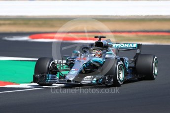 World © Octane Photographic Ltd. Formula 1 – British GP - Practice 2. Mercedes AMG Petronas Motorsport AMG F1 W09 EQ Power+ - Lewis Hamilton. Silverstone Circuit, Towcester, UK. Friday 6th July 2018.