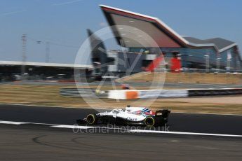 World © Octane Photographic Ltd. Formula 1 – British GP - Practice 2. Williams Martini Racing FW41 – Lance Stroll. Silverstone Circuit, Towcester, UK. Friday 6th July 2018.