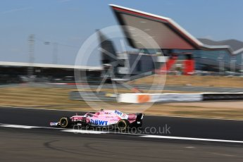 World © Octane Photographic Ltd. Formula 1 – British GP - Practice 2. Sahara Force India VJM11 - Esteban Ocon. Silverstone Circuit, Towcester, UK. Friday 6th July 2018.