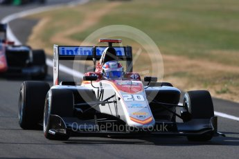 World © Octane Photographic Ltd. GP3 – British GP – Practice. Campos Racing - Diego Menchaca. Silverstone Circuit, Towcester, UK. Friday 6th July 2018.