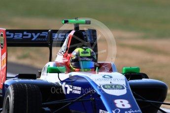 World © Octane Photographic Ltd. GP3 – British GP – Practice. Trident - Alessia Lorandi. Silverstone Circuit, Towcester, UK. Friday 6th July 2018.