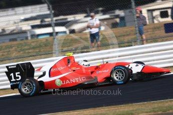 World © Octane Photographic Ltd. GP3 – British GP – Practice. Arden International - Julien Falchero. Silverstone Circuit, Towcester, UK. Friday 6th July 2018.