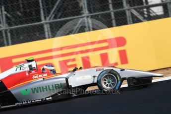 World © Octane Photographic Ltd. GP3 – British GP – Practice. Campos Racing - Simo Laaksonen. Silverstone Circuit, Towcester, UK. Friday 6th July 2018.