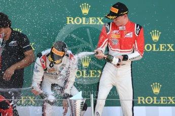 World © Octane Photographic Ltd. GP3 – British GP –   Race 1. ART Grand Prix - Anthoine Hubert and Callum Illot. Silverstone Circuit, Towcester, UK. Saturday 7th July 2018.