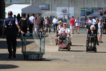 World © Octane Photographic Ltd. Formula 1 – British GP - Paddock. Silverstone Circuit, Towcester, UK. Sunday 8th July 2018.