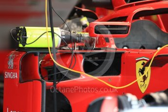 World © Octane Photographic Ltd. Formula 1 – British GP - Pit Lane. Scuderia Ferrari SF71-H. Silverstone Circuit, Towcester, UK. Thursday 5th July 2018.