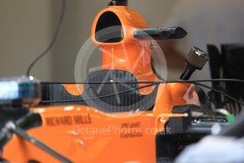 World © Octane Photographic Ltd. Formula 1 – British GP - Pit Lane. McLaren MCL33. Silverstone Circuit, Towcester, UK. Thursday 5th July 2018.