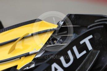 World © Octane Photographic Ltd. Formula 1 – British GP - Pit Lane. Renault Sport F1 Team RS18. Silverstone Circuit, Towcester, UK. Thursday 5th July 2018.