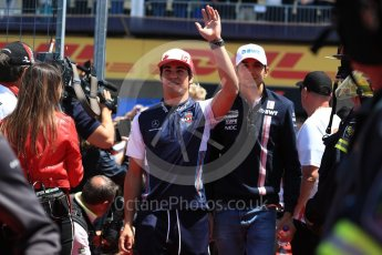 World © Octane Photographic Ltd. Formula 1 – Canadian GP - Drivers Parade. Williams Martini Racing FW41 – Lance Stroll. Circuit Gilles Villeneuve, Montreal, Canada. Sunday 10th June 2018.