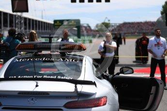 World © Octane Photographic Ltd. Formula 1 - Canadian GP - Grid. Safety car. Circuit Gilles Villeneuve, Montreal, Canada. Sunday 10th June 2018.