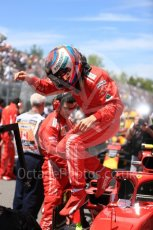 World © Octane Photographic Ltd. Formula 1 – Canadian GP - Grid. Scuderia Ferrari SF71-H – Kimi Raikkonen. Circuit Gilles Villeneuve, Montreal, Canada. Sunday 10th June 2018.