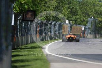 World © Octane Photographic Ltd. Formula 1 – Canadian GP - Practice 1. McLaren MCL33 – Fernando Alonso. Circuit Gilles Villeneuve, Montreal, Canada. Friday 8th June 2018.