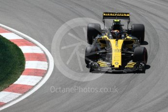 World © Octane Photographic Ltd. Formula 1 – Canadian GP - Practice 2. Renault Sport F1 Team RS18 – Carlos Sainz. Circuit Gilles Villeneuve, Montreal, Canada. Friday 8th June 2018.