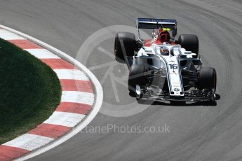 World © Octane Photographic Ltd. Formula 1 – Canadian GP - Practice 2. Alfa Romeo Sauber F1 Team C37 – Charles Leclerc. Circuit Gilles Villeneuve, Montreal, Canada. Friday 8th June 2018.