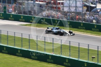 World © Octane Photographic Ltd. Formula 1 – Canadian GP - Practice 2. Mercedes AMG Petronas Motorsport AMG F1 W09 EQ Power+ - Valtteri Bottas. Circuit Gilles Villeneuve, Montreal, Canada. Friday 8th June 2018.