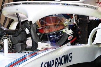 World © Octane Photographic Ltd. Formula 1 – Canadian GP - Practice 3. Williams Martini Racing FW41 – Sergey Sirotkin. Circuit Gilles Villeneuve, Montreal, Canada. Saturday 9th June 2018.