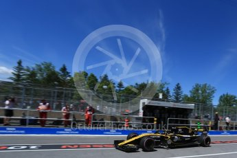 World © Octane Photographic Ltd. Formula 1 – Canadian GP - Practice 3. Renault Sport F1 Team RS18 – Nico Hulkenberg. Circuit Gilles Villeneuve, Montreal, Canada. Saturday 9th June 2018.