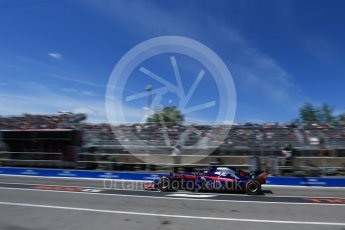 World © Octane Photographic Ltd. Formula 1 – Canadian GP - Practice 3. Scuderia Toro Rosso STR13 – Pierre Gasly. Circuit Gilles Villeneuve, Montreal, Canada. Saturday 9th June 2018.