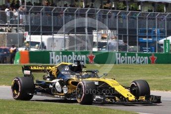 World © Octane Photographic Ltd. Formula 1 – Canadian GP - Quailfying. Renault Sport F1 Team RS18 – Nico Hulkenberg. Circuit Gilles Villeneuve, Montreal, Canada. Saturday 9th June 2018.