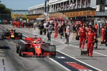 World © Octane Photographic Ltd. Formula 1 – Canadian GP - Qualifying. Scuderia Ferrari SF71-H – Sebastian Vettel. Circuit Gilles Villeneuve, Montreal, Canada. Saturday 9th June 2018.