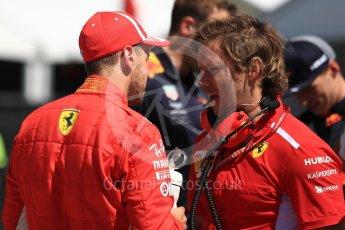 World © Octane Photographic Ltd. Formula 1 – Canadian GP - Quailfying. Scuderia Ferrari SF71-H – Sebastian Vettel. Circuit Gilles Villeneuve, Montreal, Canada. Saturday 9th June 2018.