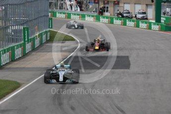 World © Octane Photographic Ltd. Formula 1 – Canadian GP - Race. Mercedes AMG Petronas Motorsport AMG F1 W09 EQ Power+ - Valtteri Bottas. Circuit Gilles Villeneuve, Montreal, Canada. Sunday 10th June 2018.