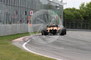 World © Octane Photographic Ltd. Formula 1 – Canadian GP - Race. McLaren MCL33 – Fernando Alonso. Circuit Gilles Villeneuve, Montreal, Canada. Sunday 10th June 2018.