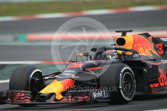 RB14 – Daniel Ricciardo. Circuit de Barcelona-Catalunya, Spain. Monday 26th February 2018.