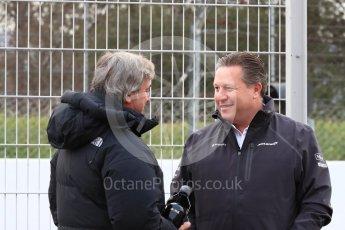 World © Octane Photographic Ltd. Formula 1 – Winter Test 1. Executive Director of McLaren Technology Group - Zak Brown. Circuit de Barcelona-Catalunya, Spain. Tuesday 27th February 2018.