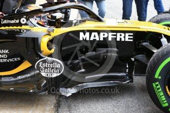 World © Octane Photographic Ltd. Formula 1 – Winter Test 1. Renault Sport F1 Team RS18 – Carlos Sainz. Circuit de Barcelona-Catalunya, Spain. Tuesday 27th February 2018.
