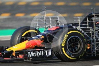 World © Octane Photographic Ltd. Formula 1 – Winter Test 2. Aston Martin Red Bull Racing TAG Heuer RB14 – Daniel Ricciardo. Circuit de Barcelona-Catalunya, Spain. Friday 9th March 2018.