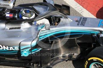 World © Octane Photographic Ltd. Formula 1 – Winter Test 2. Mercedes AMG Petronas Motorsport AMG F1 W09 EQ Power+ - Valtteri Bottas. Circuit de Barcelona-Catalunya, Spain. Friday 9th March 2018.