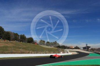 World © Octane Photographic Ltd. Formula 1 – Winter Test 2. Scuderia Ferrari SF71-H – Kimi Raikkonen. Circuit de Barcelona-Catalunya, Spain. Friday 9th March 2018.