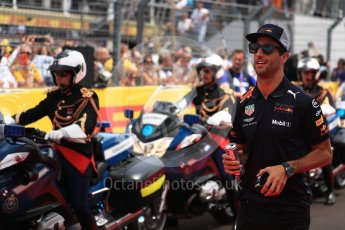 World © Octane Photographic Ltd. Formula 1 – French GP - Drivers Parade. Aston Martin Red Bull Racing TAG Heuer RB14 – Daniel Ricciardo. Circuit Paul Ricard, Le Castellet, France. Sunday 24th June 2018.