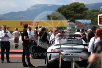 World © Octane Photographic Ltd. Formula 1 – French GP - Grid. Safety Car. Circuit Paul Ricard, Le Castellet, France. Sunday 24th June 2018.