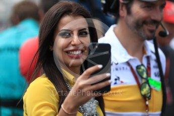 World © Octane Photographic Ltd. Formula 1 – French GP - Paddock. Aseel Al-Hamad - first female member of the Saudi Arabian Motorsport Federation. Circuit Paul Ricard, Le Castellet, France. Sunday 24th June 2018.