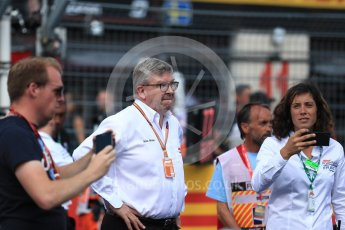 World © Octane Photographic Ltd. Formula 1 - French GP - Grid. Ross Brawn – Managing Director of Formula 1 for Liberty Media. Circuit Paul Ricard, Le Castellet, France. Sunday 24th June 2018.