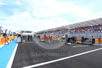 World © Octane Photographic Ltd. Formula 1 – French GP - Grid. Circuit Paul Ricard, Le Castellet, France. Sunday 24th June 2018.