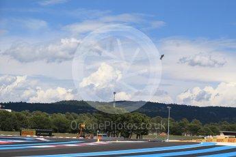 World © Octane Photographic Ltd. Formula 1 – French GP - Grid. Hover board. Circuit Paul Ricard, Le Castellet, France. Sunday 24th June 2018.